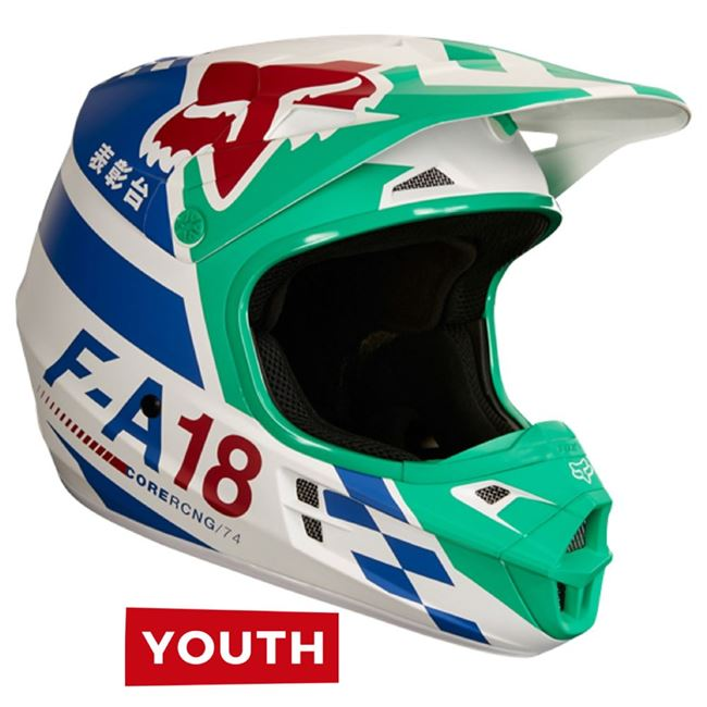 Fox Youth V1 Sayak Green