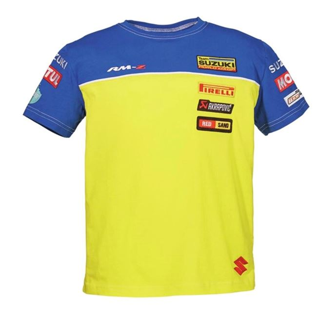 Suzuki Mxgp Replica Kids T-shirts
