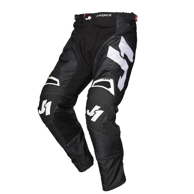 PANTS J-FORCE TERRA BLACK - WHITE