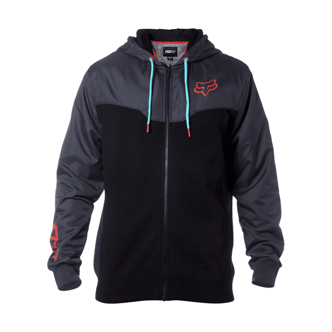 Fox Rotated Zip Fleece