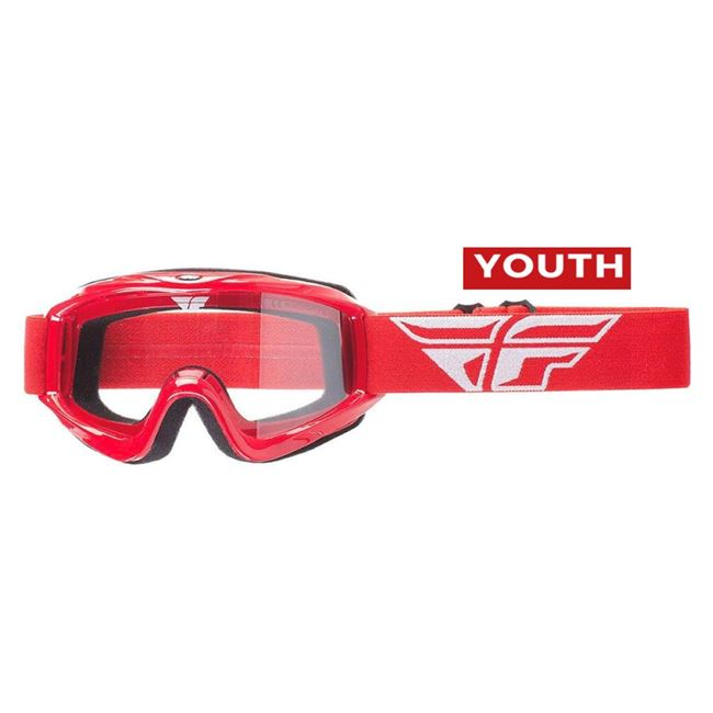 Youth Fly Focus Goggles (red)