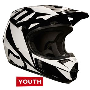 Fox Youth V1 Race Black