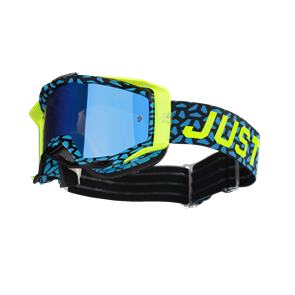 MASK TURQUOISE - FLUO YELLOW