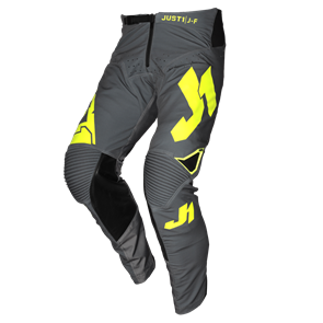 PANTS J-FLEX ARIA DARK GREY - FLUO YELLOW