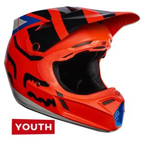 Fox Youth V3 Creo Orange