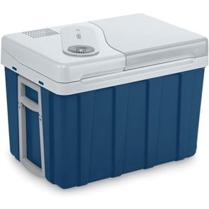 Mobicool MQ40W AC/DC 39litre thermoelectric coolbox, metallic blue,12/230 V