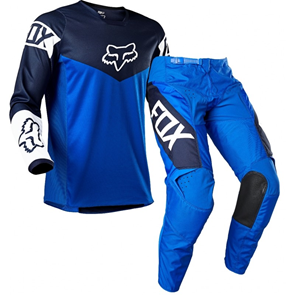 Fox 180 REVN Motocross Gear BLUE