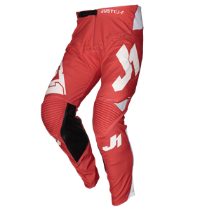 PANTS J-FLEX ARIA RED - WHITE