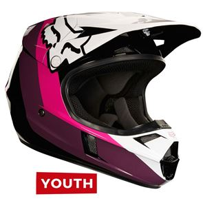 Fox Youth V1 Hayn Black/Pink
