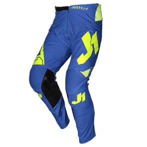 PANTS J-FLEX ARIA BLUE - FLUO YELLOW