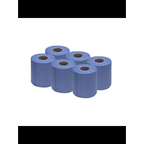 RFX 2 Ply Blue Roll 6-pack 180mmx78m Workshop Consumable