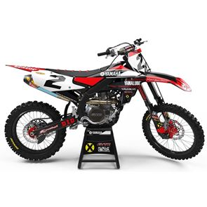 Xtreme Visuals YZF 450 Graphics (2018) - Red Edition