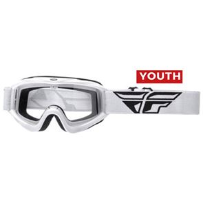Youth Fly Focus Goggles (White)