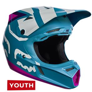 Fox Youth V3 Creo Teal