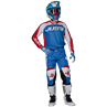 additional image for PANTS J-FORCE TERRA BLUE - RED - WHITE