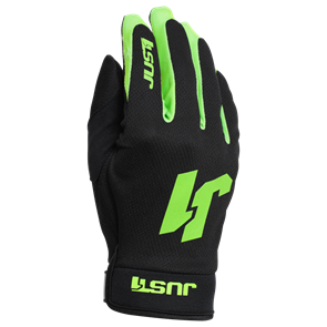 JUST1 GLOVES J-FLEX BLACK-FLUO GREEN