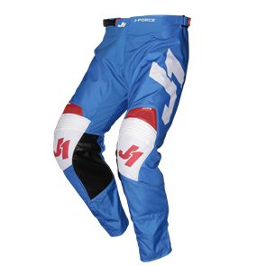 PANTS J-FORCE TERRA BLUE - RED - WHITE